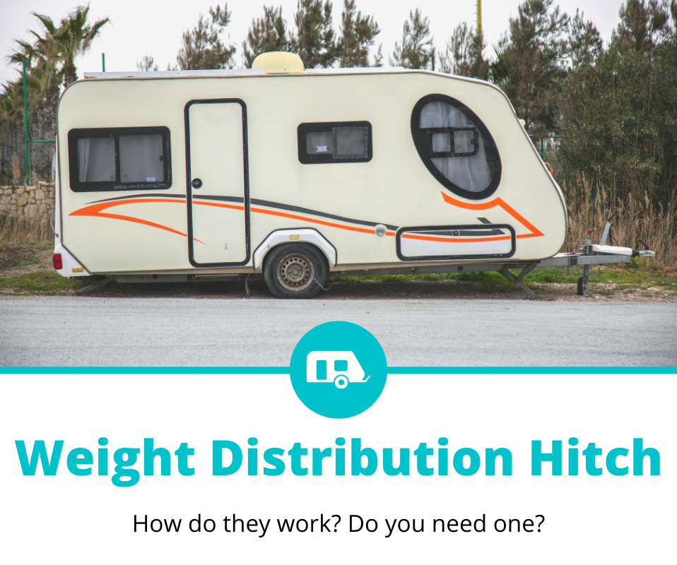 how does a weight distribution hitch work